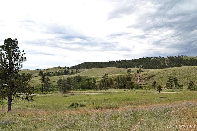 Landscape at Wind Caves National Park