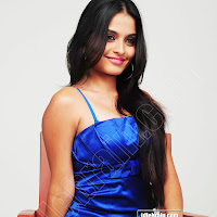 SHEENA SHAHABADI hot spicy in blue