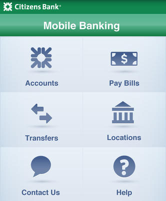 Application iPhone de RBS Citizens