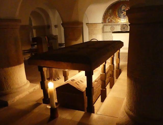 Hildesheim - St. Michaelis: Krypta