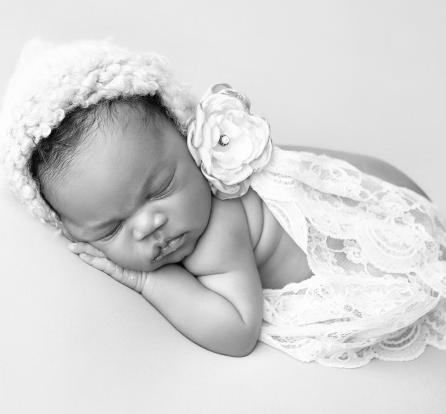 Jude Okoye's wife Ifeoma shares adorable new photo of their baby girl