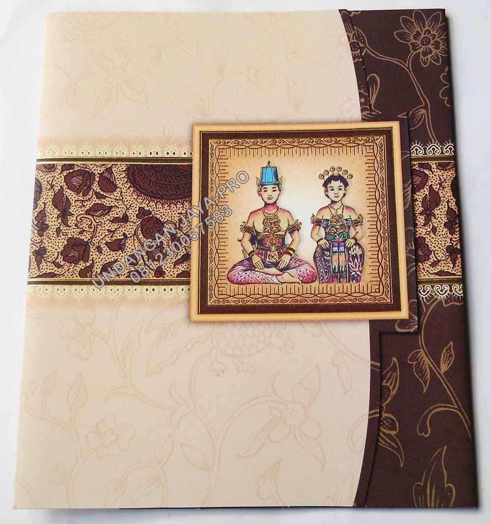 Konsep Jasa Desain Grafis: Desain Undangan Pernikahan Tema Jawa