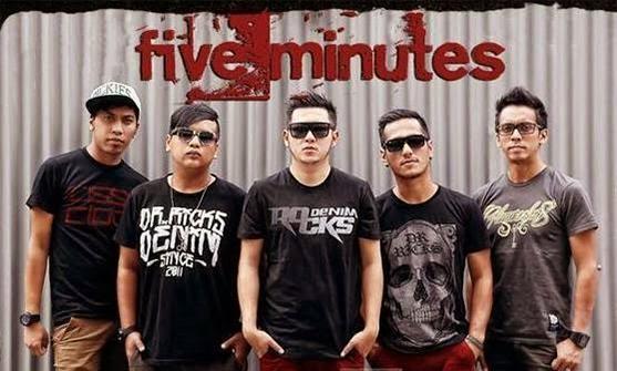 Lirik Bertahan - Five Minutes