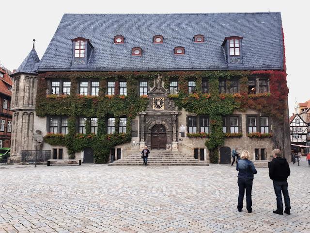 Rathaus Quedlinburg city hall