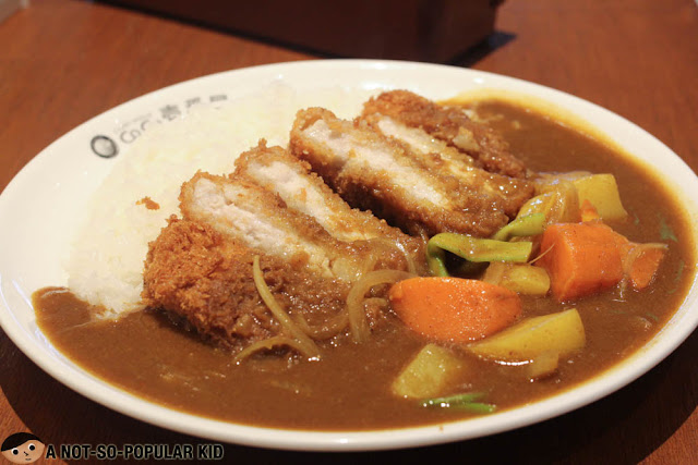 Pork Cutlet & Vegetables Curry - CoCo Ichibanya