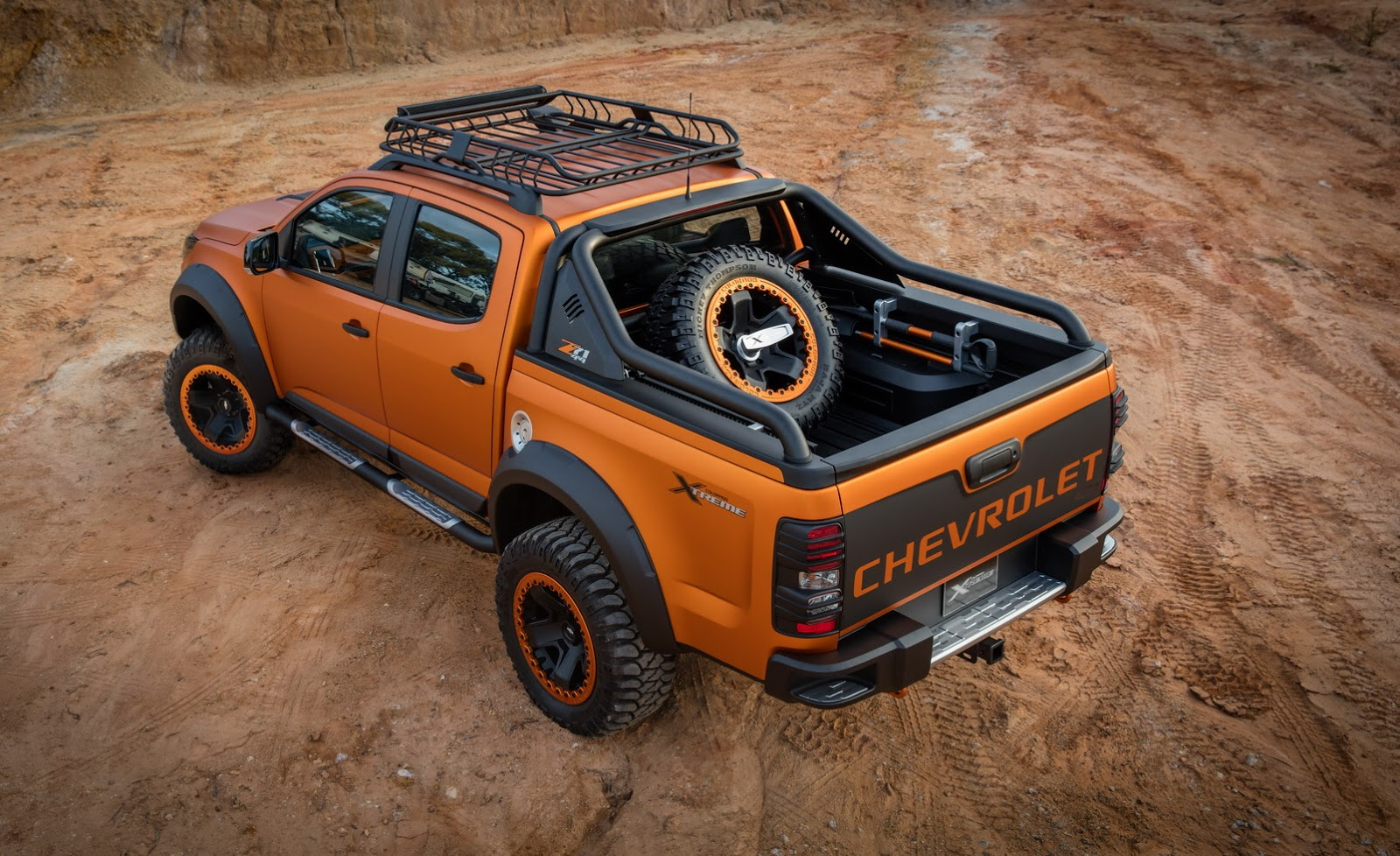 Chevrolet Colorado Xtreme Study Previews The Global Model's Facelift - carscoops.com