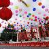 Pasar Gede Solo Dipenuhi Ribuan Lampu Lampion