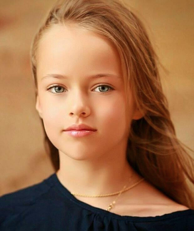 The Most Beautiful In World 10 Year Old Kristina Pimenova Lands A Modeling Contract