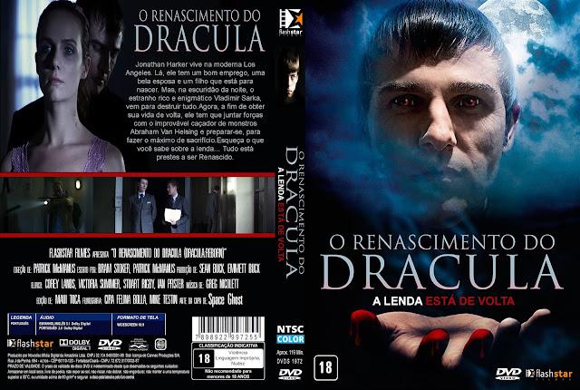 Capa DVD O Renascimento Do Dracula A Lenda Está De Volta