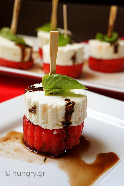 Watermelon & Feta Appetizer