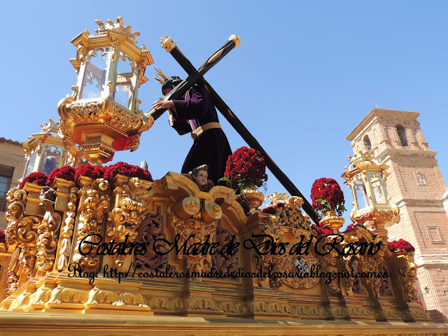 Mañana de Viernes Santo, El Nazareno camina por Villanueva de los Infantes. parte III