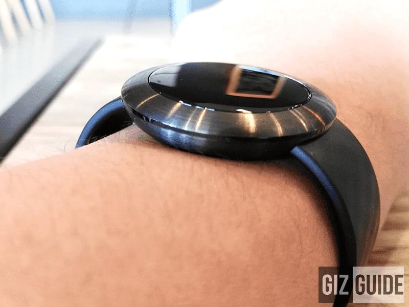 Slimmer than Huawei Watch