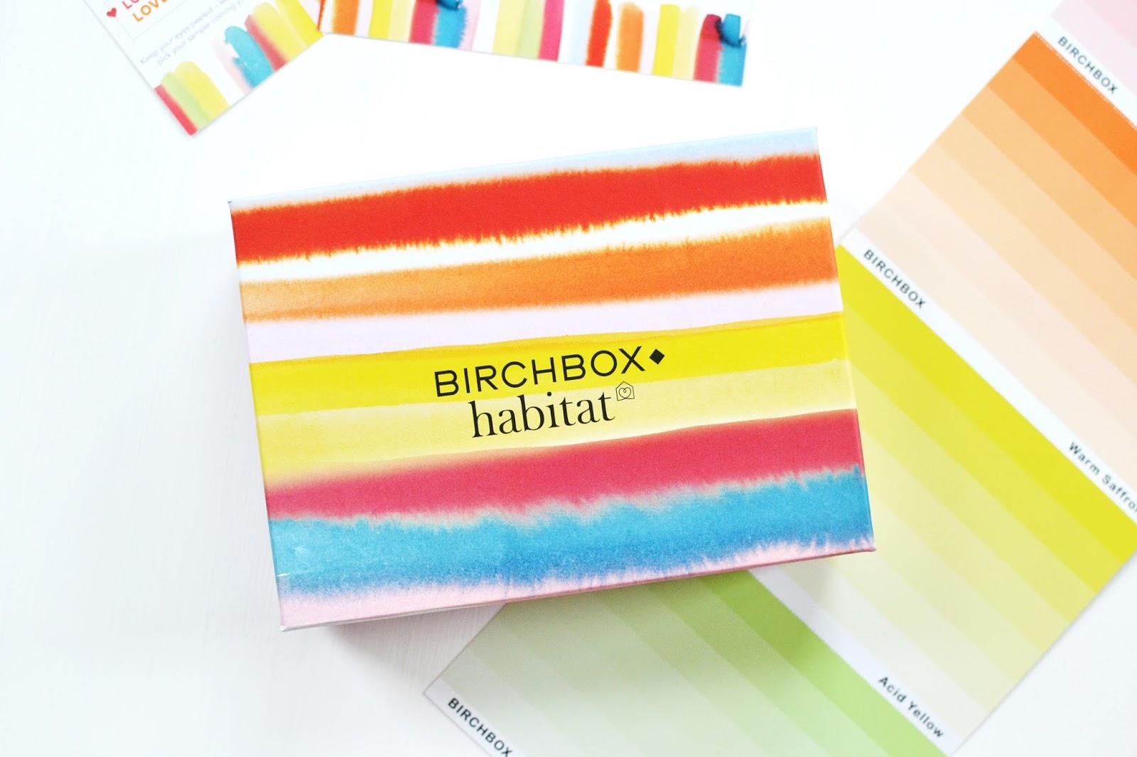 birchbox march 2015, birchbox, birchbox and habitat