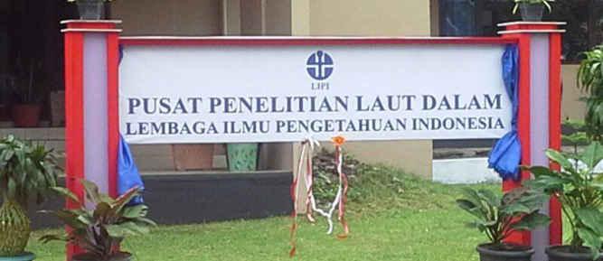 Pusat Penelitian Laut Dalam - Lembaga Ilmu Pengetahuan Indonesia (PPLD-LIPI) memperkuat pelayanan publik dengan memberi beragam layanan jasa ilmiah.