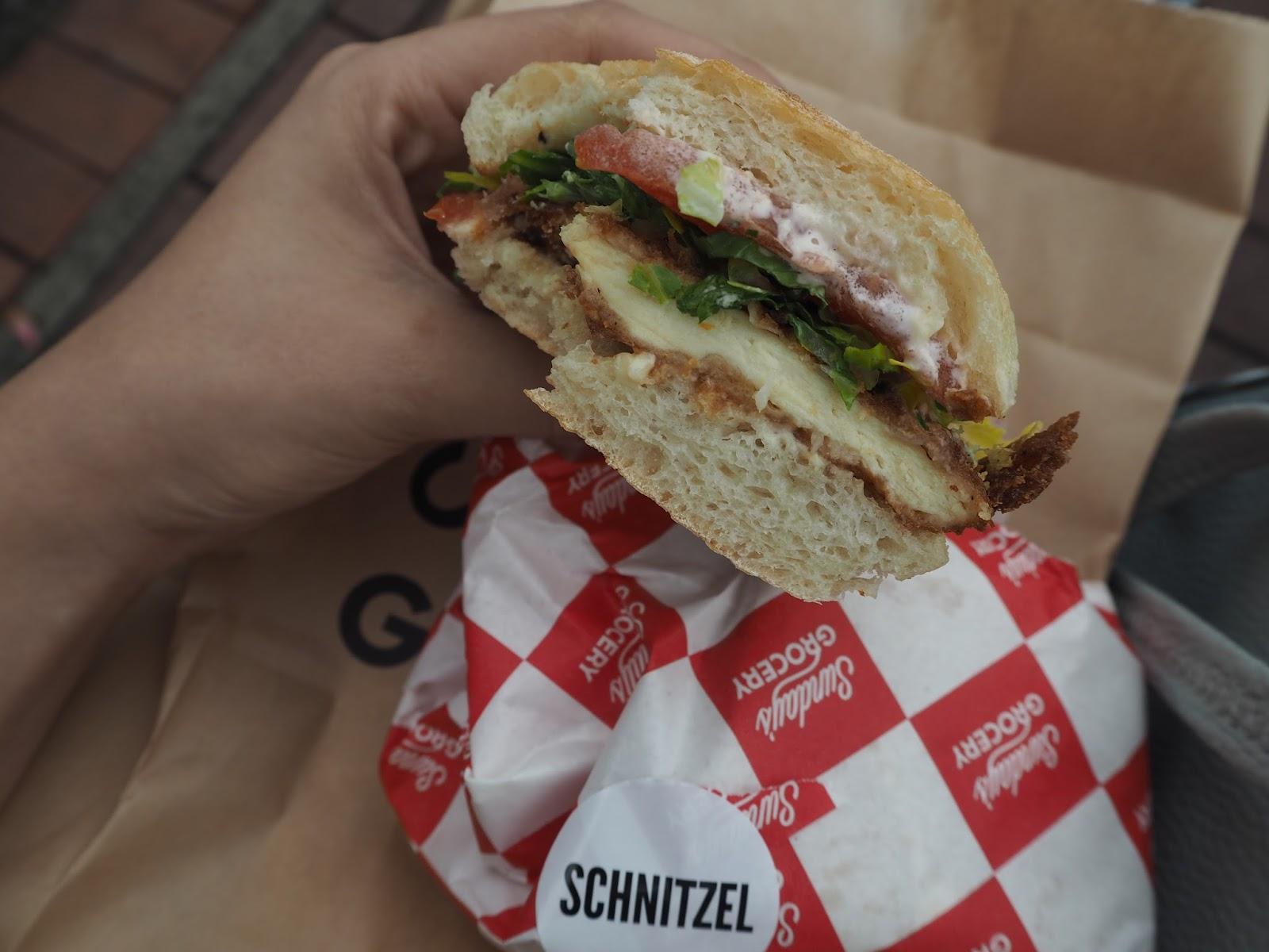 schnitzel sandwich sunday grocery hong kong