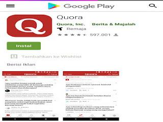 aplikasi Quora tanya jawab menjadi mudah