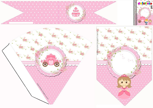 Baby Princess Free Party Printables.