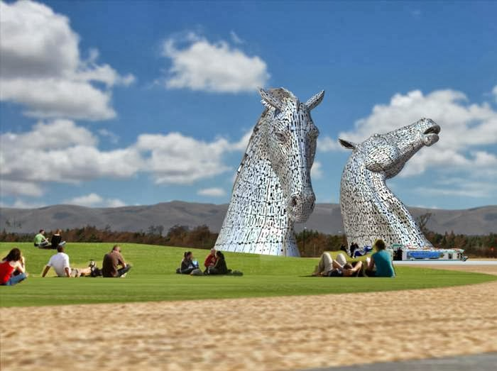 The Helix is a 350ha park built on land between Falkirk & Grangemouth. Built as a Living Landmark, The Helix connects 16 communities across the Falkirk Area.