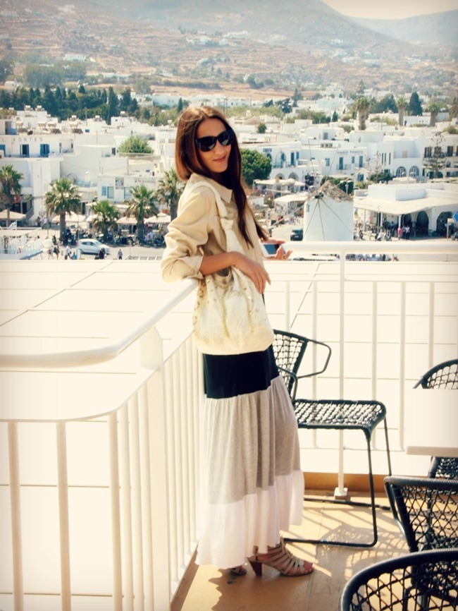 neutral colors outfits for summer beige white gray