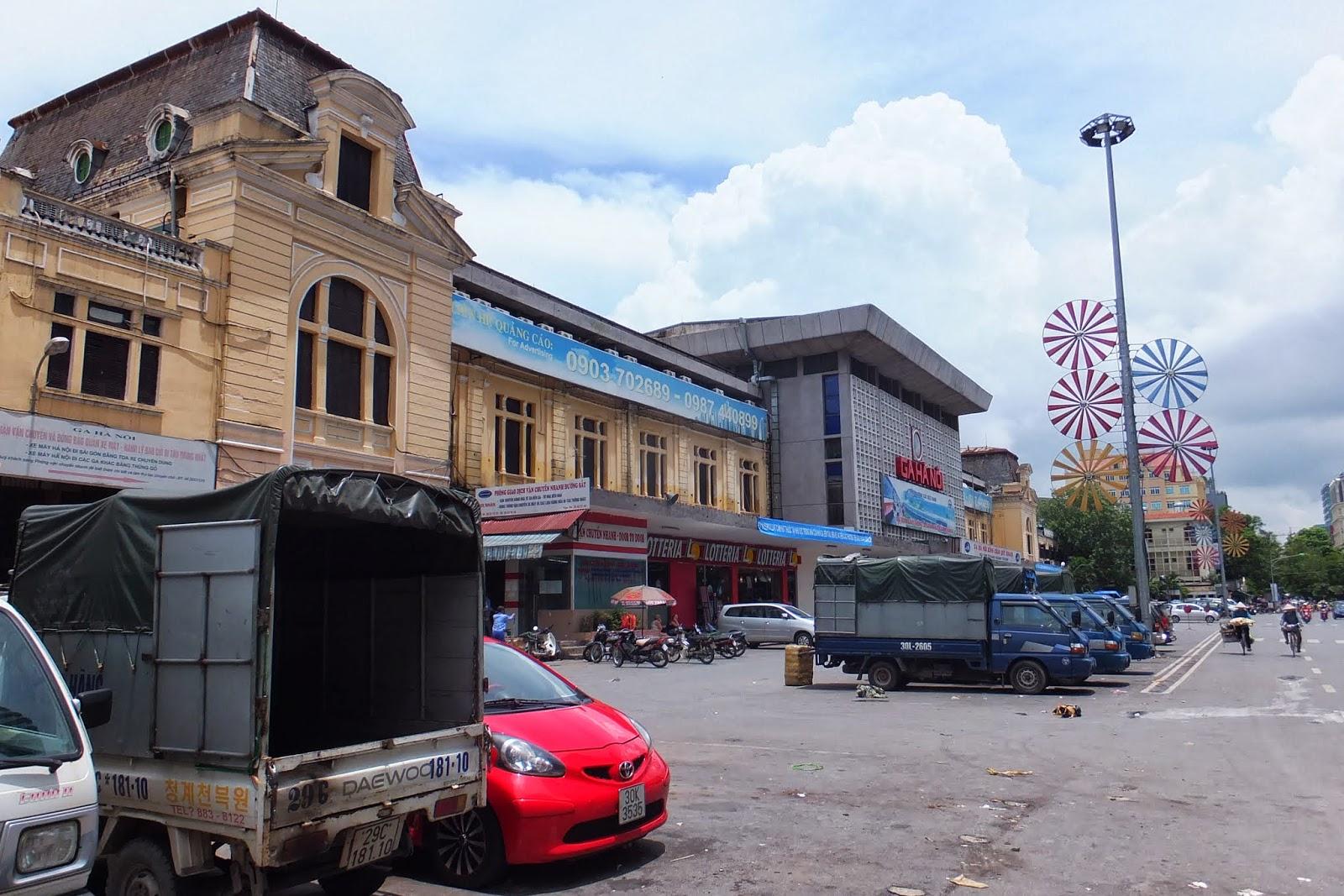 Ga Hanoi ハノイ駅