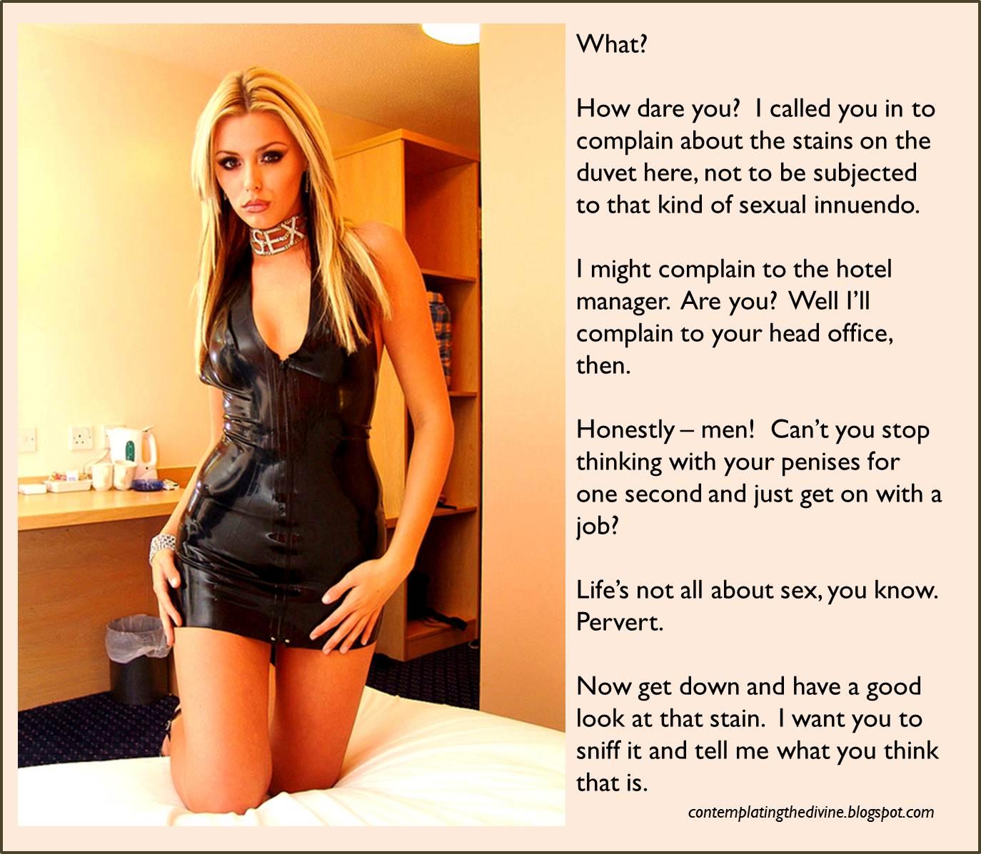 Sexy princess verbal humiliation pantyhose teasing joi 1