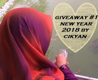 Giveaway #1 New Year 2018 by cikyan