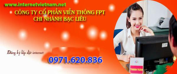 Đăng Ký Lắp Mạng Internet FPT Huyện Hòa Bình, Bạc Liêu