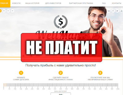 Скриншоты выплат с хайпа wellmark.biz