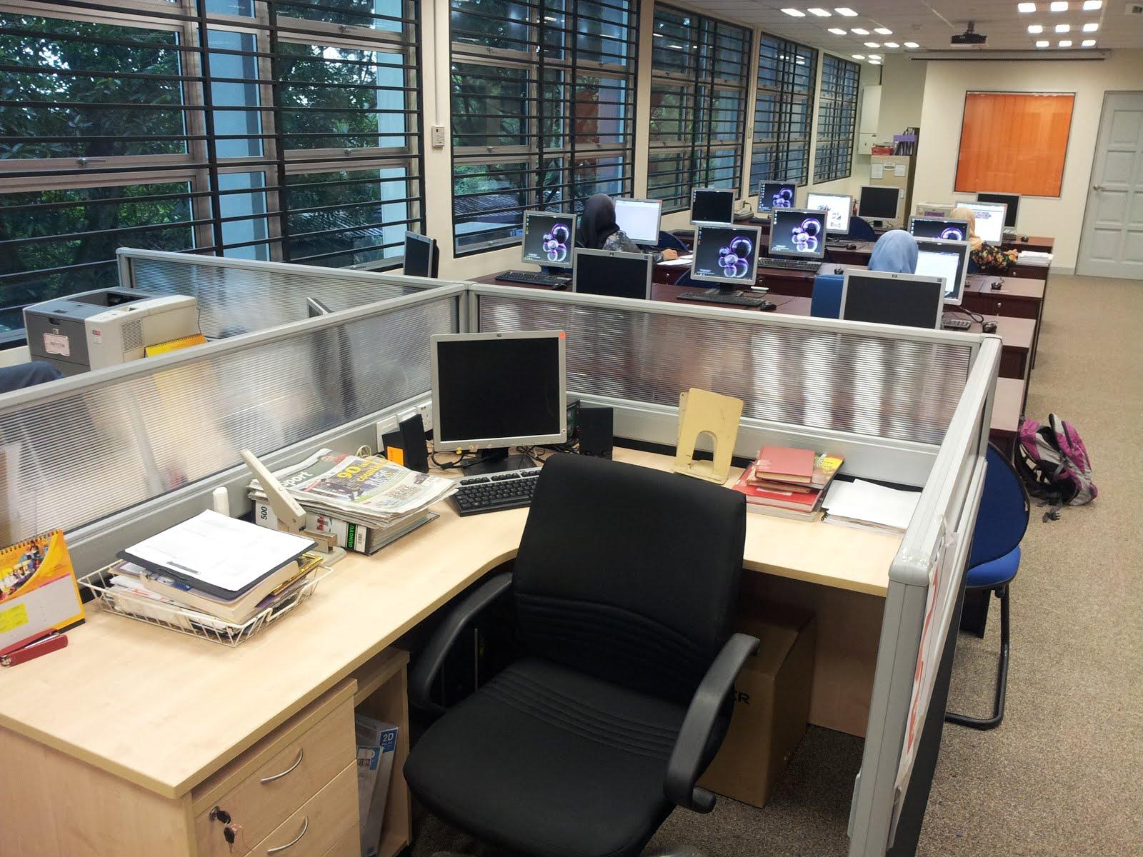 Cara menjaga komputer di pejabat atau makmal komputer  PICOM