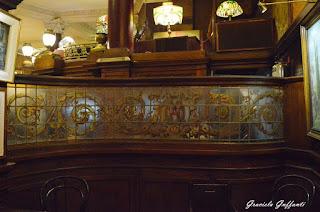 Café Tortoni. Buenos Aires,