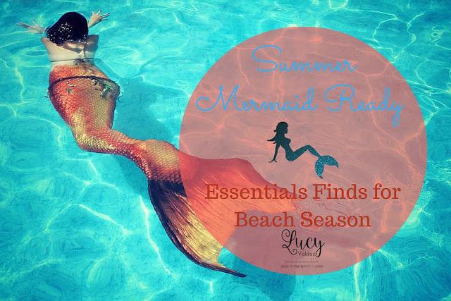 Summer Mermaid Ready - Essential Finds for Beach Season blog title