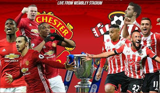 Manchester United vs Southampton EFL Cup Final