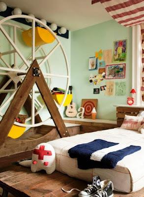 Desain Keren Kamar Tidur Anak Laki-laki
