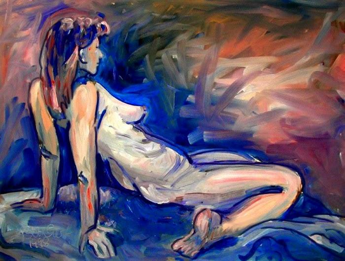 Пост-импрессионистическое искусство. Stefan Bottcher