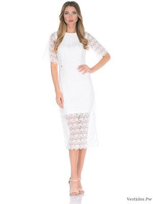 vestidos blancos para niñas