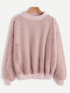 http://es.shein.com/Contrast-Ribbed-Trim-Drop-Shoulder-Fluffy-Sweatshirt-p-327682-cat-1773.html