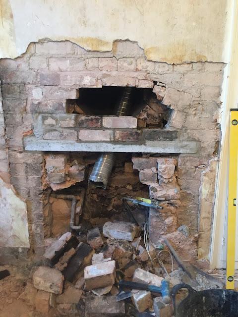 re-brickng above a lintel