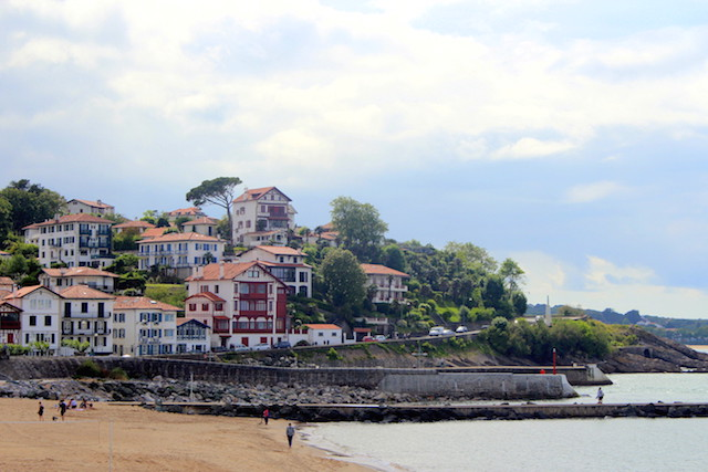 Beach in Saint-Jean de Luz, France