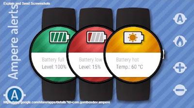 تحميل برنامج ampere لقياس سرعة الشاحن-جودة الشاحن-حالة البطارية