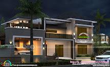 4 Bhk Modern Style 2600 Sq-ft Home Design - Kerala