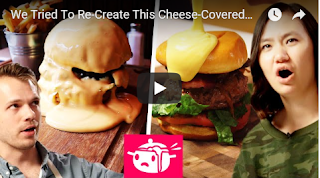 We Tried To Re-Create This We Tried To Re-Create This Cheese-Covered Burger