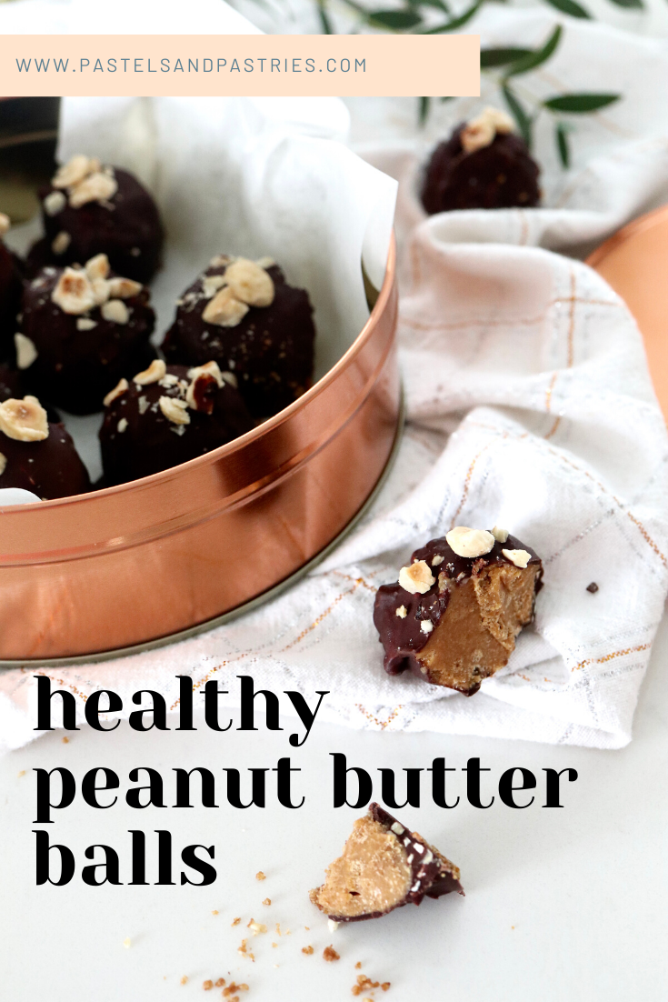 healthy peanut butter treats for christmas