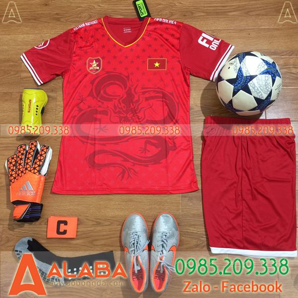 Áo Đội Tuyển Việt Nam Fifa Màu Đỏ