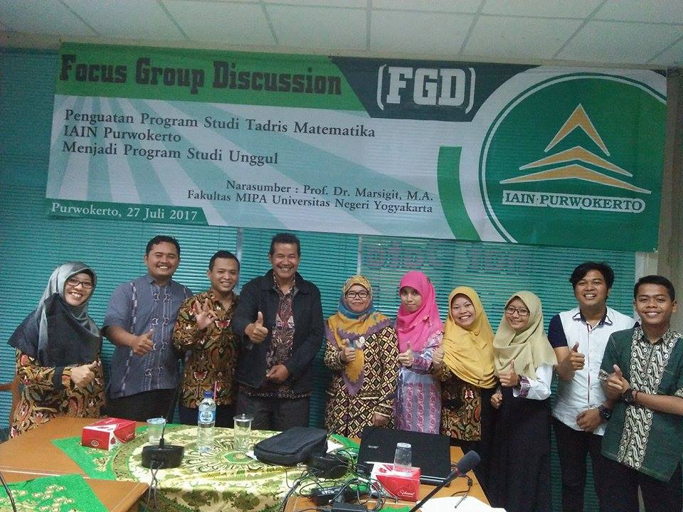 As Key Note Speaker of FGD in IAIN Purwokerto