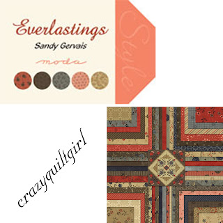 Moda EVERLASTINGS Quilt Fabric by Sandy Gervais