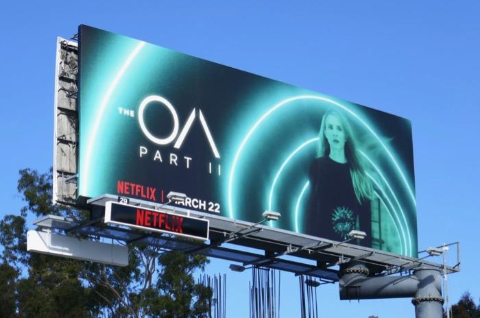 The OA Part 2 billboard