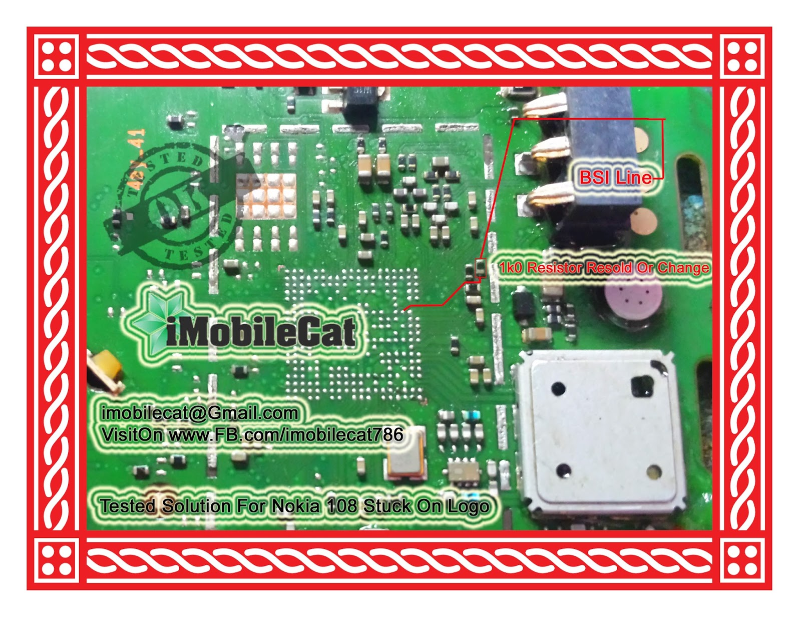 Complete New Hang On Logo Solution For Nokia 108   iMobileCat