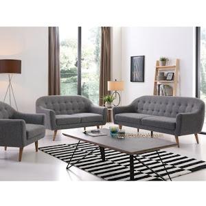 Set Kursi Sofa Tamu Vintage 3 2 1 + Meja Seri Babilonia
