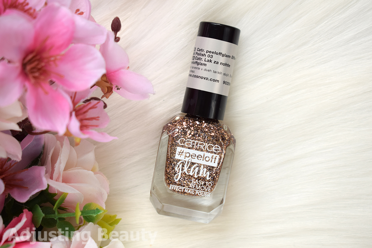 Review: Catrice #peeloff Glam Effect Nail Polish - 03 When
