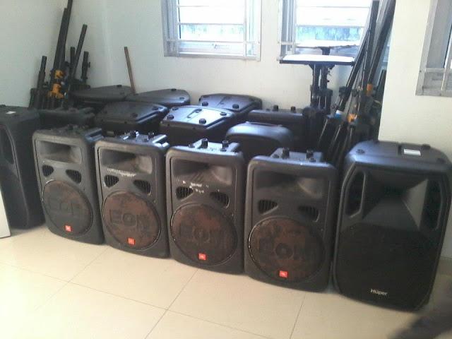 Sound System Lapangan